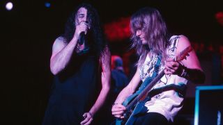 Deep Purple on stage in 1998