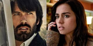 Ben Affleck and Ana de Armas movie side-by-side