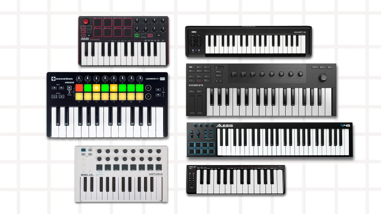 Hook up Midi-toetsenbord naar GarageBand