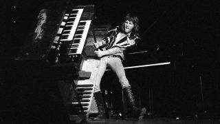 ELP''s Keith Emerson on stage