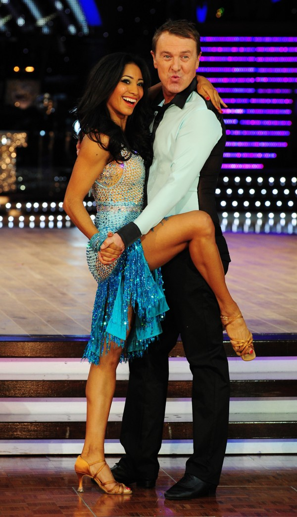 Phil Tufnell and Karen Hauer on the Strictly live tour in 2013