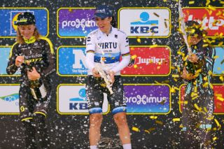 2019 Tour of Flanders podium