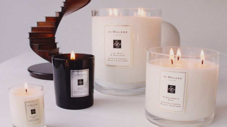 Selection of Jo Malone candles