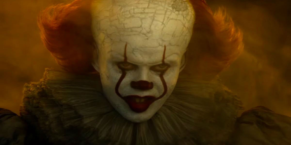 Pennywise the Clown in IT: Chapter Two
