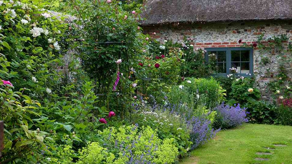 Super How To Create A Cottage Garden Real Homes Download Free Architecture Designs Viewormadebymaigaardcom