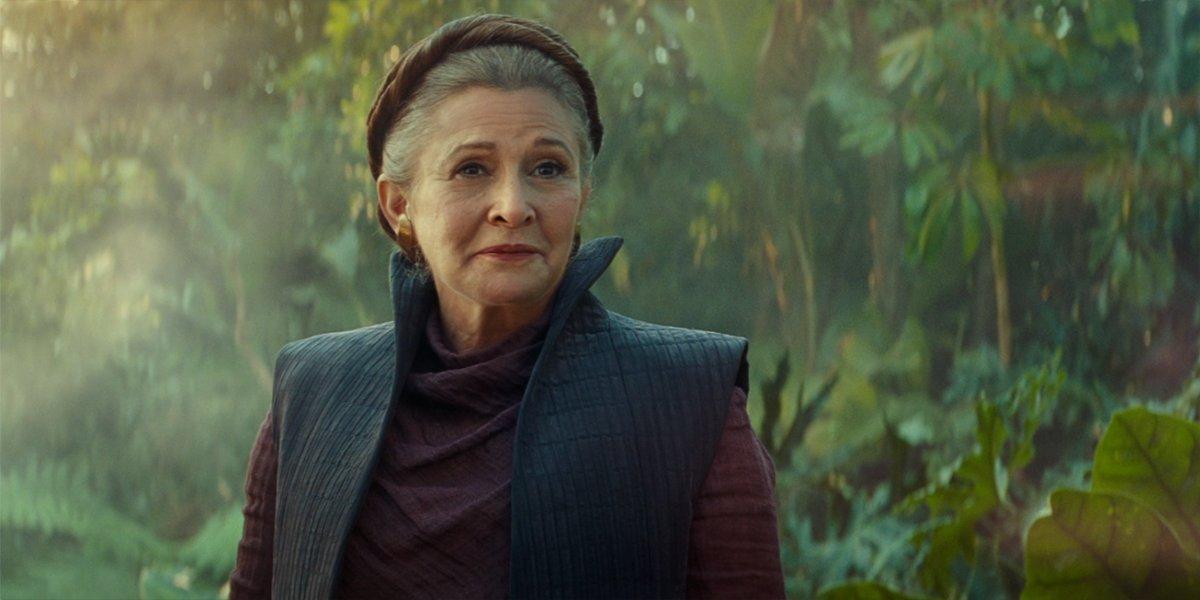 General Leia Organa In Star Wars The Rise Of Skywalker