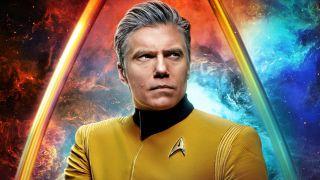 Captain Pike in Star Trek: Strange new Worlds.