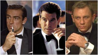 james bond actors in order