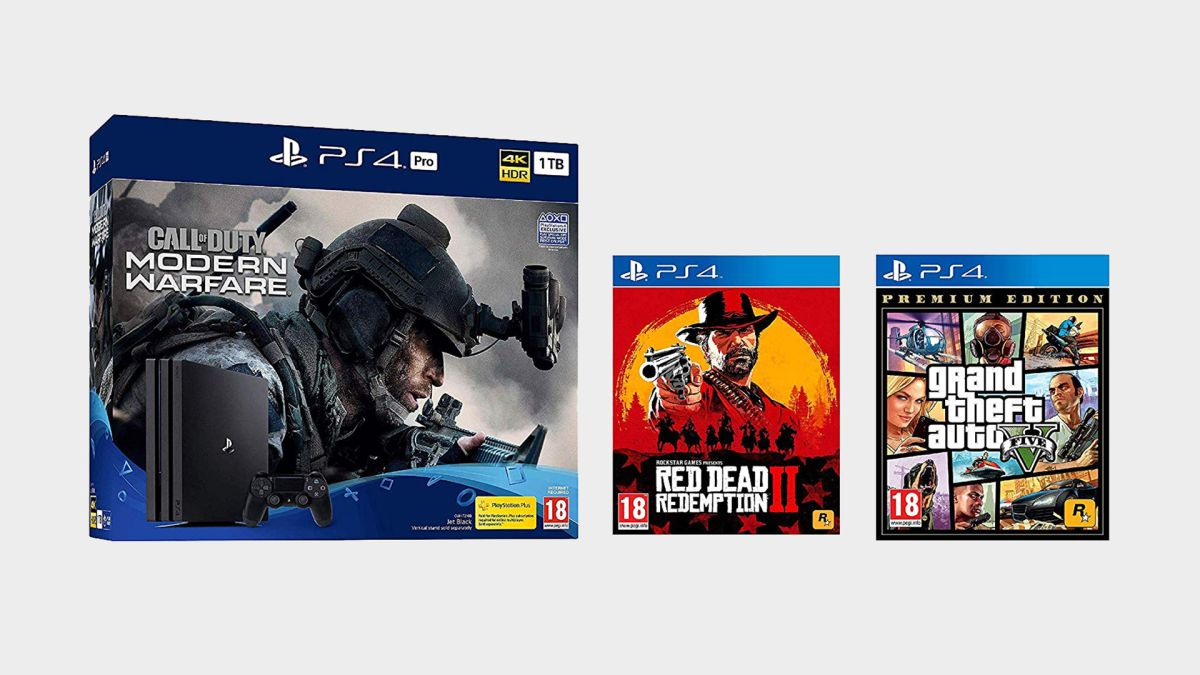 UK's best PS4 Pro deal for Cyber Monday: console, COD Modern Warfare, Red Dead Redemption 2, and GTA V for... £319.99