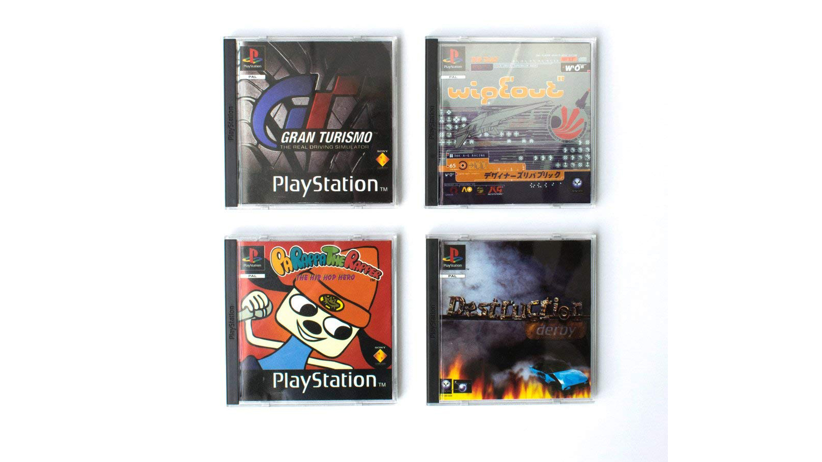 Official Sony PlayStation Games Coasters