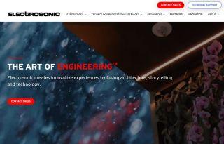 Electrosonic launches new website