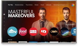 Discovery Plus user interface