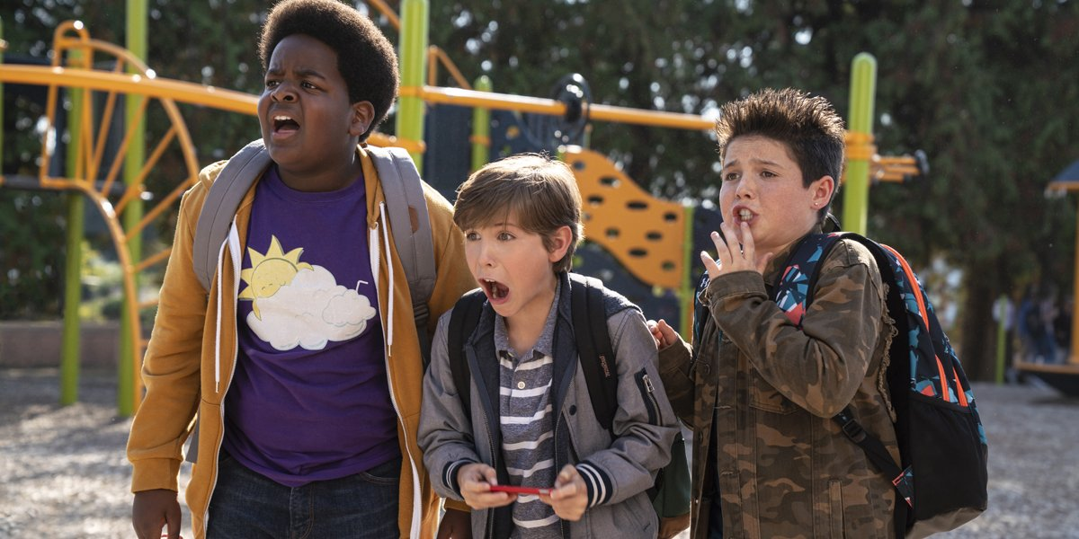 Keith Williams Jacob Tremblay and Brady Noon in Good Boys