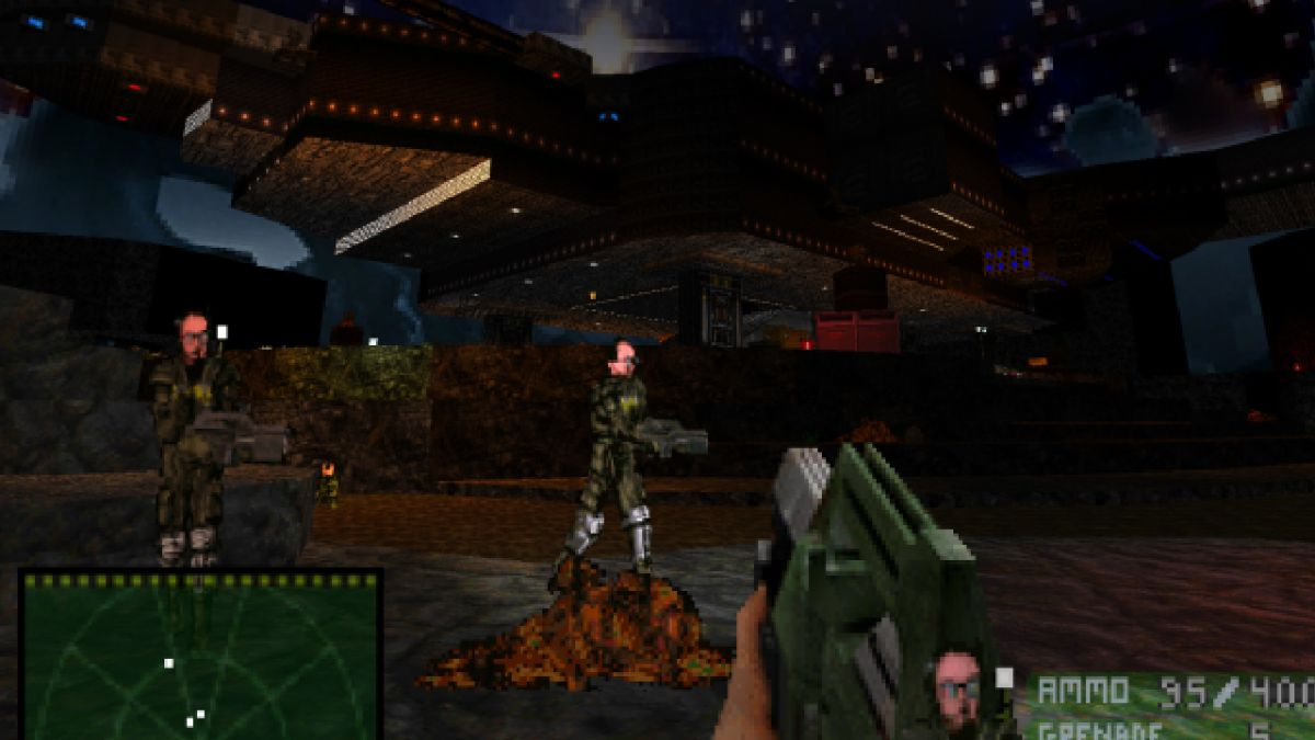 This Alien-themed Doom mod pits you against androids, predators, and xenomorphs