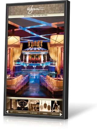 JANUS Displays for Wynn Las Vegas