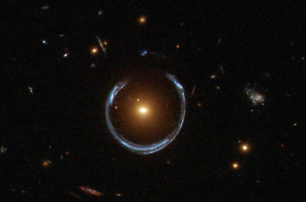 Nature's Lens: How Gravity Can Bend Light Like a Telescope