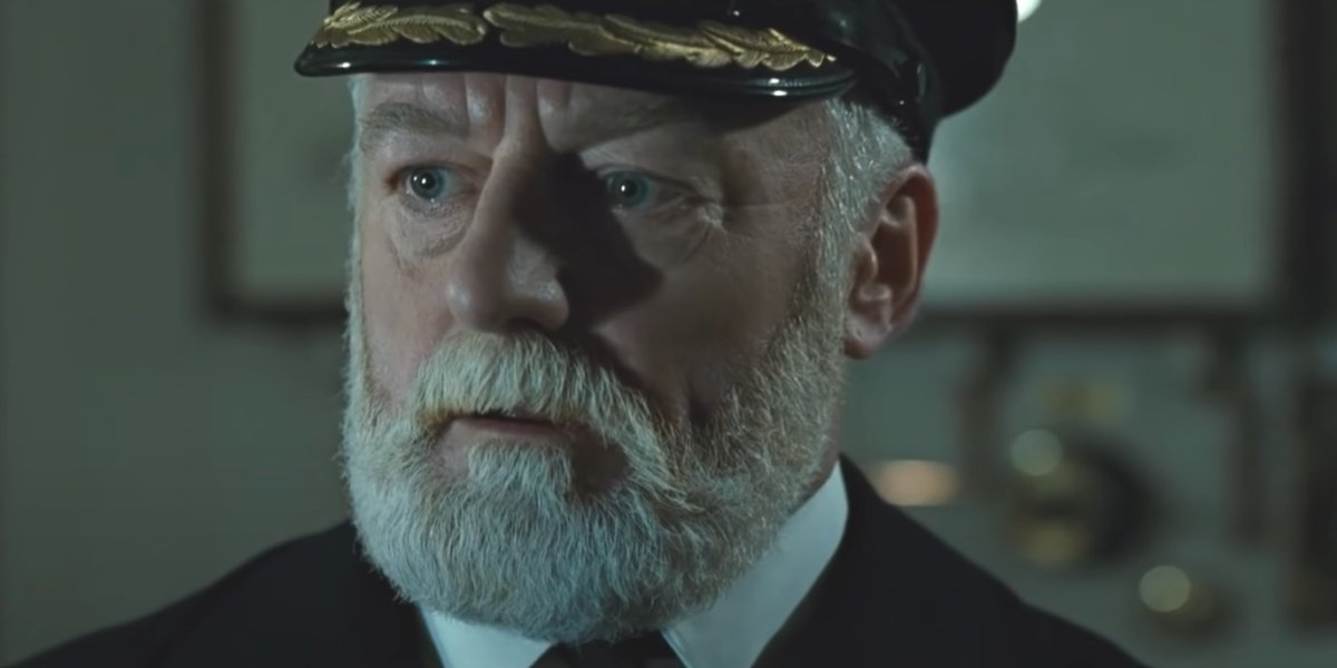 Bernard Hill in Titanic