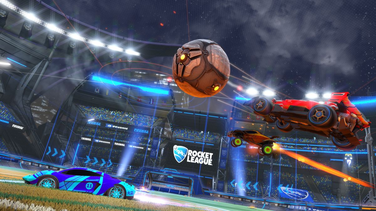 Rocket League Anniversary update adds new arena, cars, and goal explosions   PC Gamer