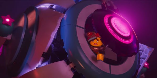 The LEGO Movie in Space
