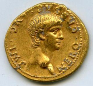 rare Roman gold coin