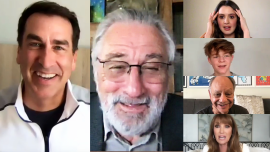 The War With Grandpa Cast Interview: Robert De Niro, Rob Riggle, Laura Marano & More