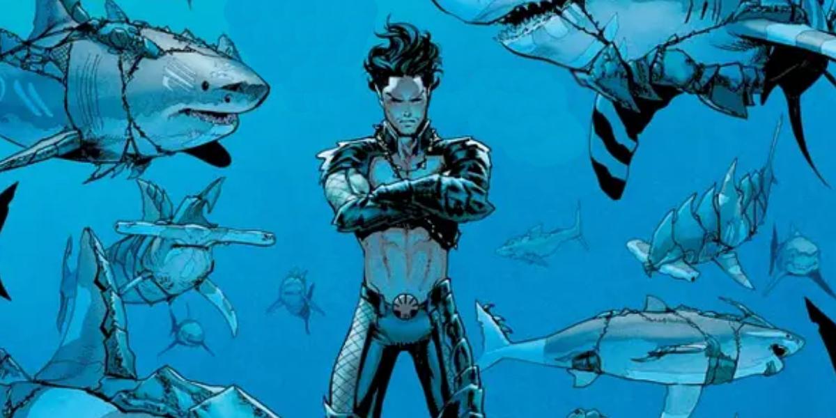 Namor speaking to marine life