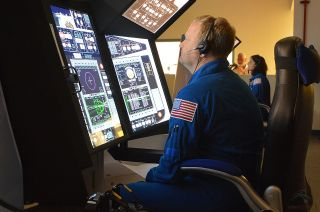 Boeing CST-100 starliner simulators