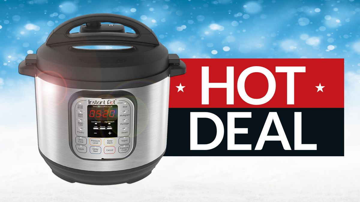 Get this UNMISSABLE Amazon Instant Pot Christmas gift deal NOW as it ends TODAY