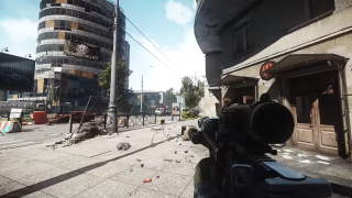 A view from Escape from Tarkov's new map.