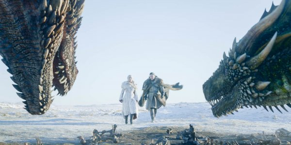 dany jon approach dragons season 1 episode 1 game of thrones hbo