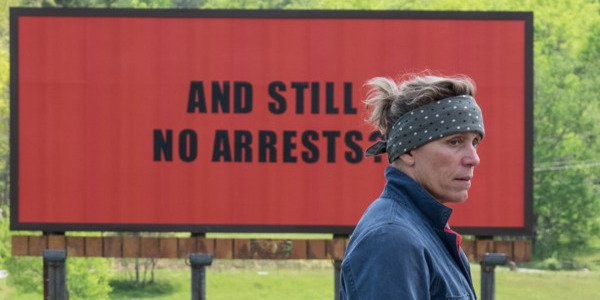 Frances McDormand in Three Billboards