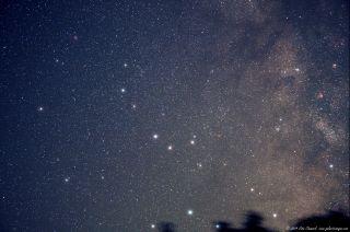 Pluto and Sagittarius Stars by Chumack