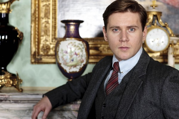 Allen Leech as Tom Branson in Downton Abbey