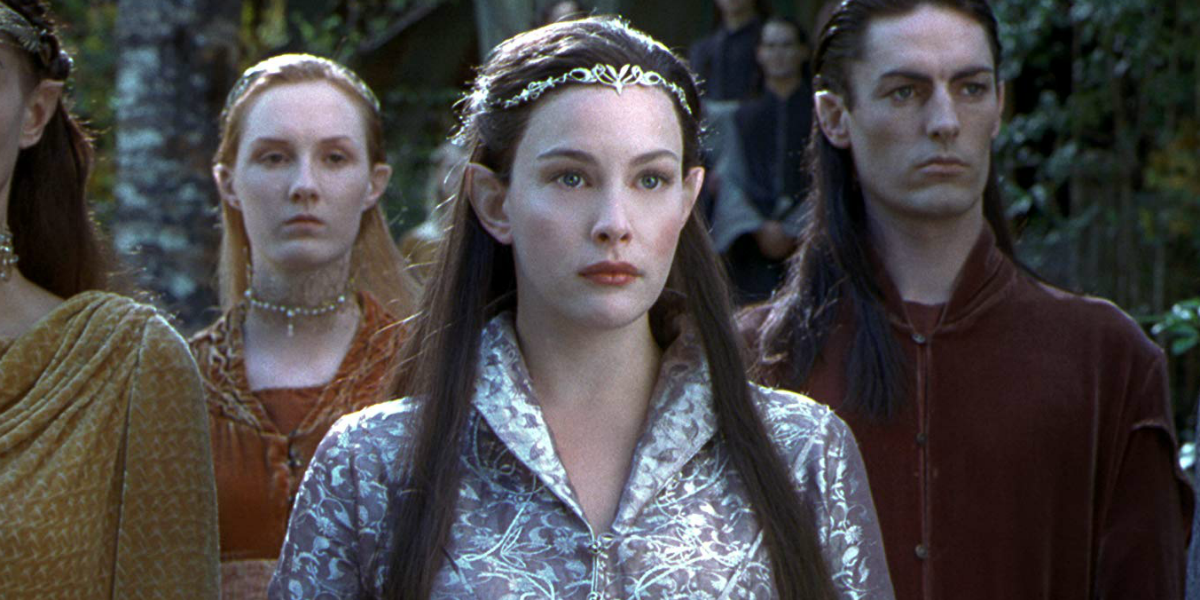 Lord of the Rings Arwen Liv Tyler New Line Cinema