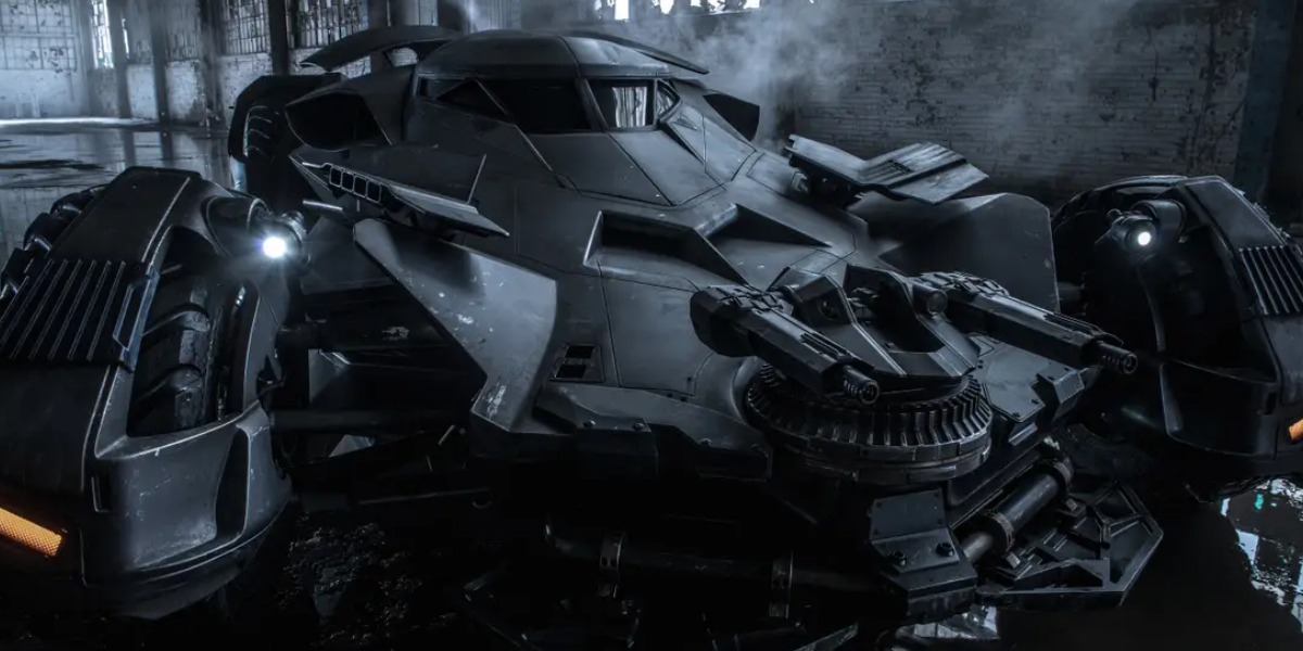 The Batmobile from Batman v Superman: Dawn of Justice