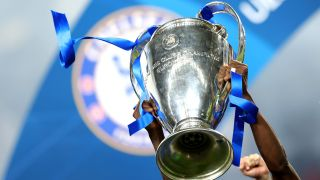 Champions League trophy won by Chelsea in 2021