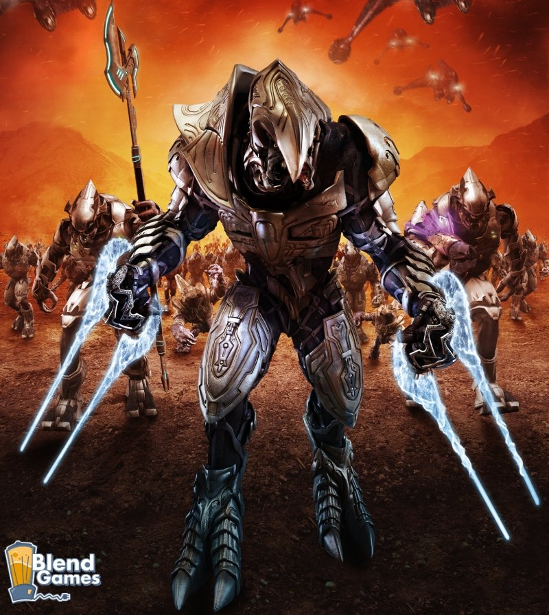 halo wars new artwork and wallpapers