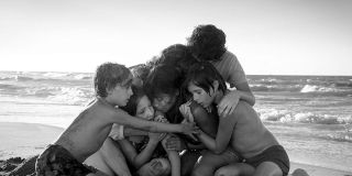 Some of the main cast of _Roma._