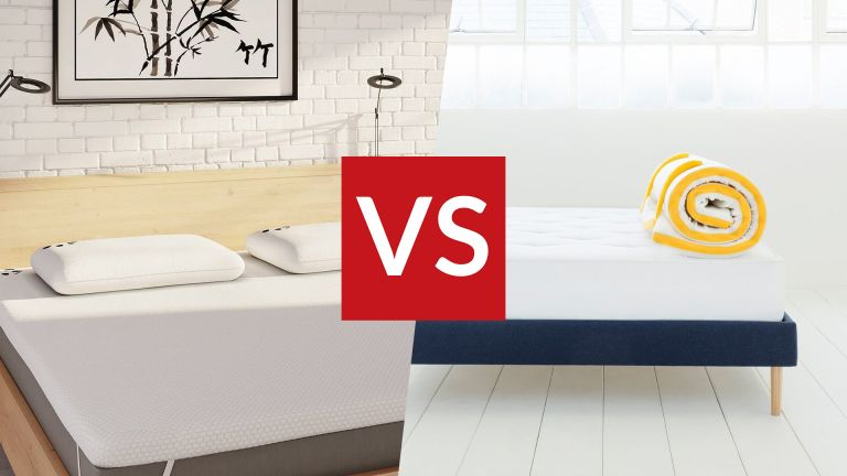 Eve Topper vs Panda mattress Topper