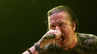 Mike :Patton onstage