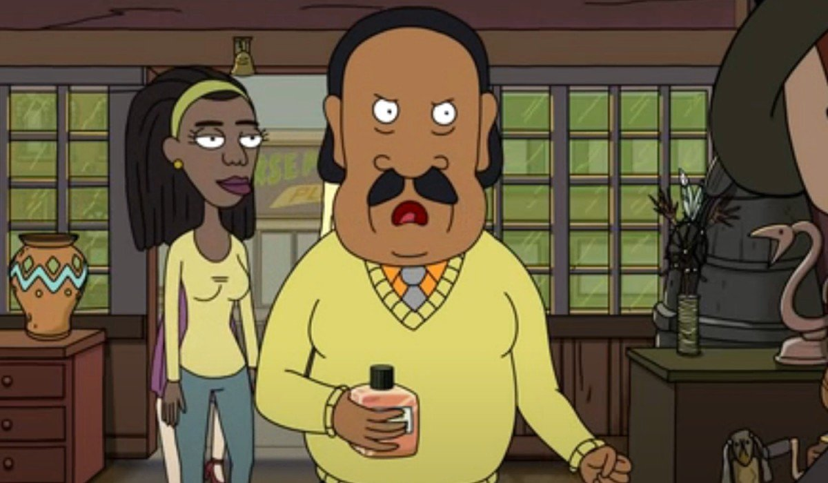 Mr. Goldenfold on Rick and Morty Adult Swim