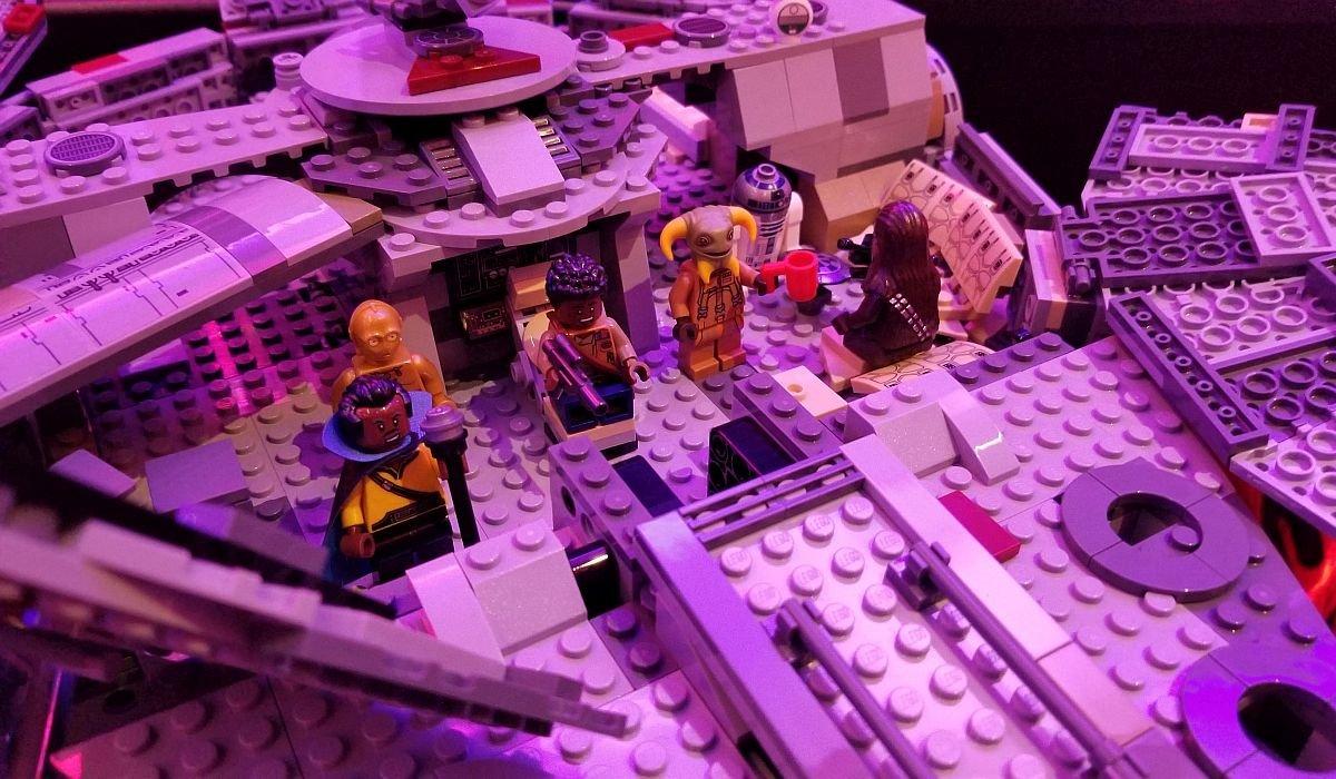 LEGO Millennium Falcon with Boolio