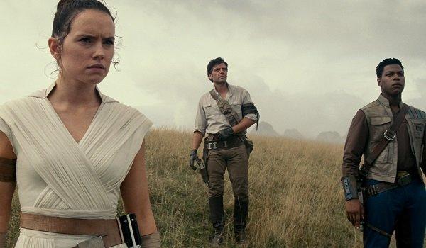 Rey Poe Finn Star Wars The Rise Of Skywalker