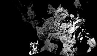 Rosetta's Philae Lander on Comet 67P