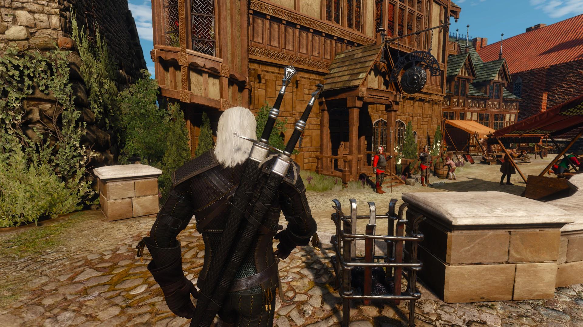 Best Witcher 3 Mods - Black Scabbards