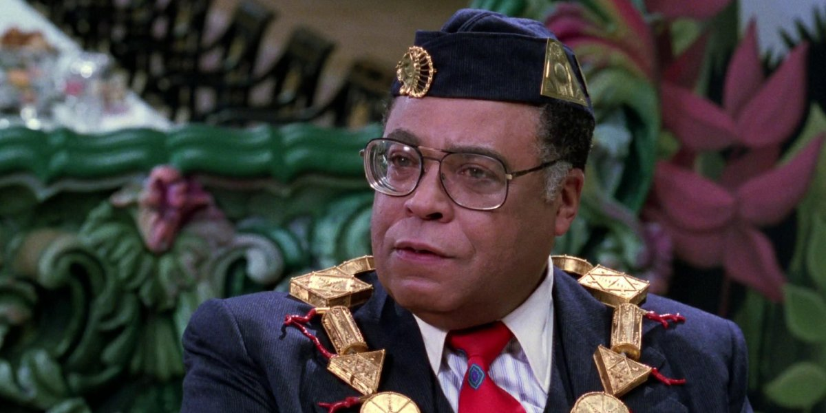 James Earl Jones in Coming to America