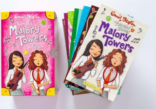 Malory Towers books by Enid Blyton