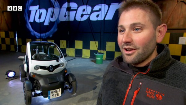 Screen grab taken from topgear.com of Top Gear producer Oisin Tymon