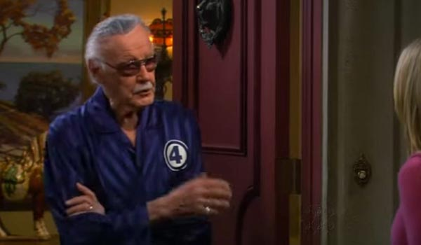 stan lee the big bang theory