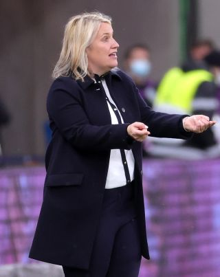 Emma Hayes saw her Chelsea side lose the opening match of their WSL title defence last week.